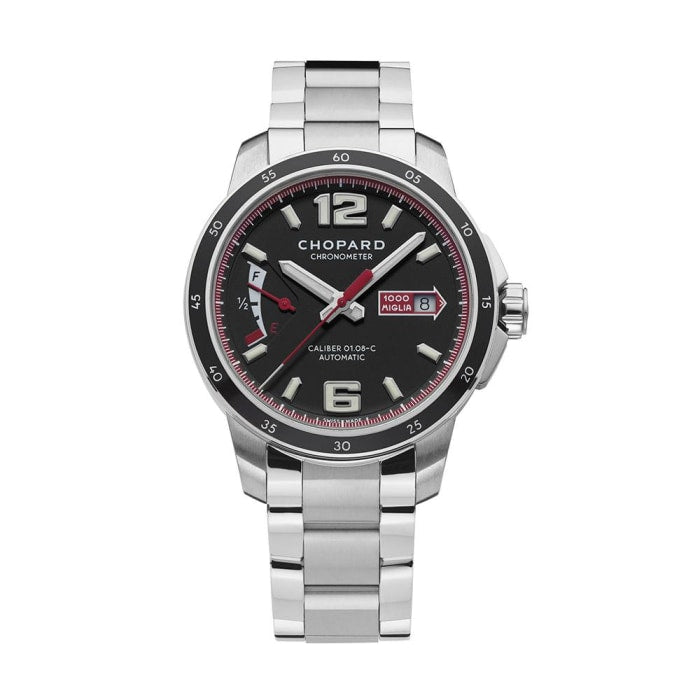 Chopard~Mille Miglia Gts Stainless Steel 43Mm Chronometer (158566-3001) - Watches Boston