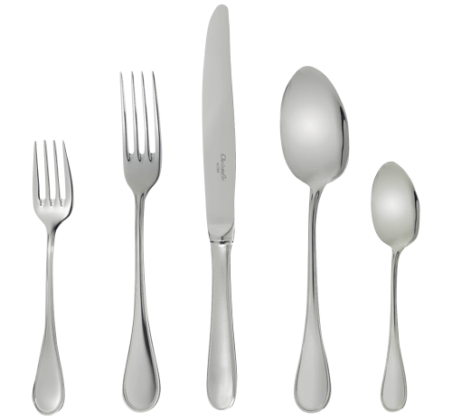 Christofle Albi Acier Stainless Steel 5-Piece Place Setting - GIFTS Boston