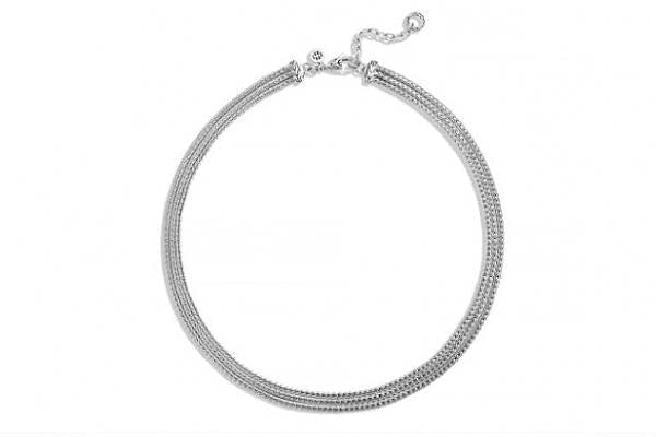 Classic Chain 3 Row Necklace - Jewelry Designers Boston
