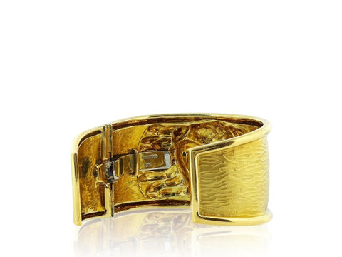 David Webb Bull Bangle Bracelet - Jewelry Boston