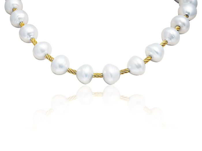 David Yurman Pearl Necklace - Jewelry Boston
