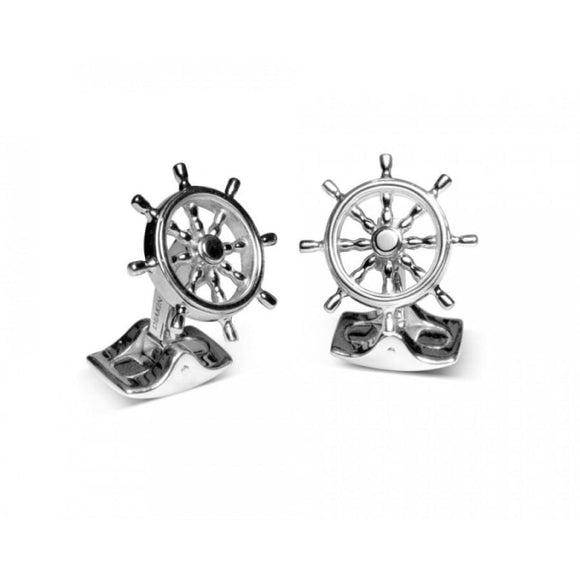 Deakin & Francis~Ships Wheel Cufflinks - Cufflinks Boston