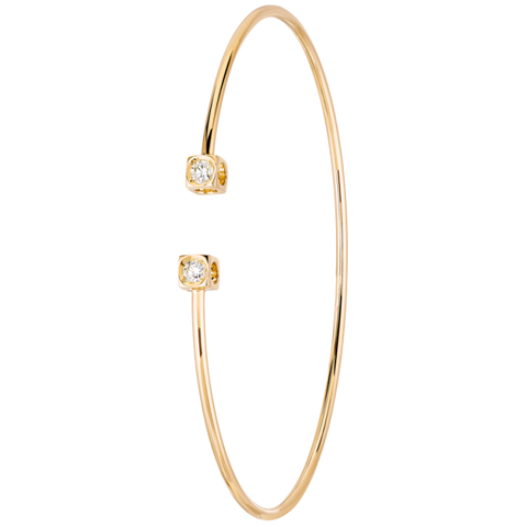 Dinh Van Le Cube Diamant Flex Sm. Bracelet W/ Diamonds - Jewelry Boston