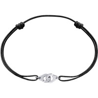 Dinh Van Menottes Cord Bracelet (White Gold) - Jewelry Boston