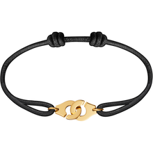 Load image into Gallery viewer, Dinh Van Menottes R10 Cord Bracelet W/ Gold Clasp - Jewelry Boston