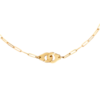 Dinh Van Menottes R10 Gold Necklace - Jewelry Boston