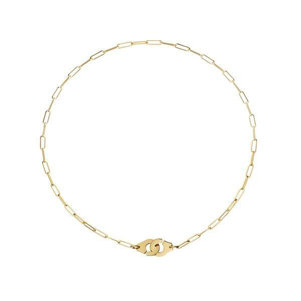 Dinh Van Menottes R10 Mixed Link YG Necklace - Boston
