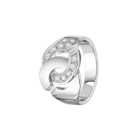 Load image into Gallery viewer, Dinh Van Menottes R12 Ring W/ Diamonds - Jewelry Boston