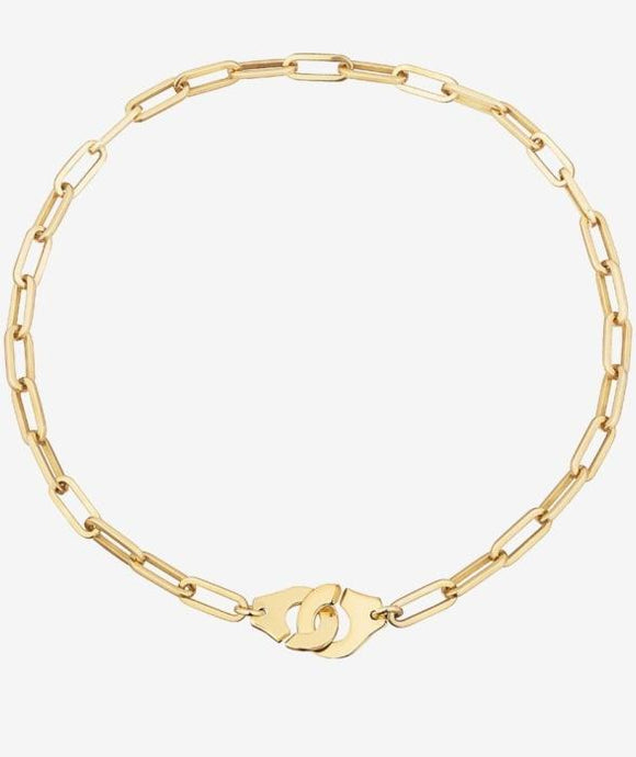 dinh van Menottes R15 Mixed Link Necklace (YG) - Boston