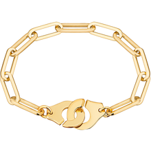 Load image into Gallery viewer, Dinh Van Xl R15 Menottes Gold Bracelet - Jewelry Designers Boston