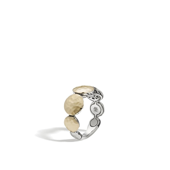 Dot 9mm Band Ring (Two Tone) - Jewelry Designers Boston