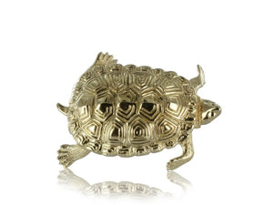 Estate 14 Karat Gold Turtle Pin - Jewelry Boston
