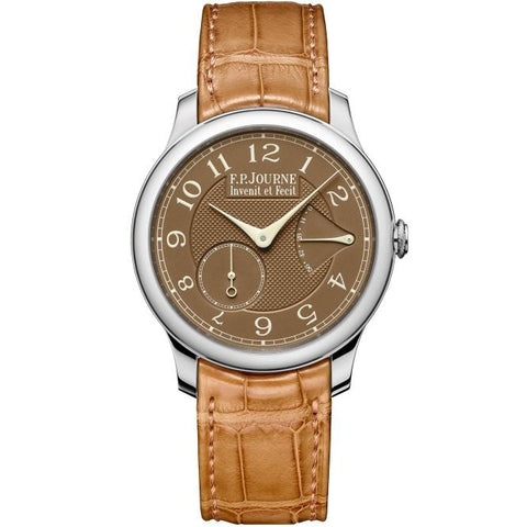 F.P Journe Chronometre Souverain 40mm Platinum/Strap - WATCHES Boston