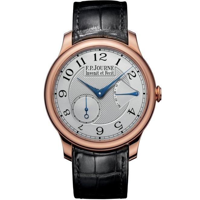 F.P Journe Chronometre Souverain 40mm Rose Gold/Strap - WATCHES Boston