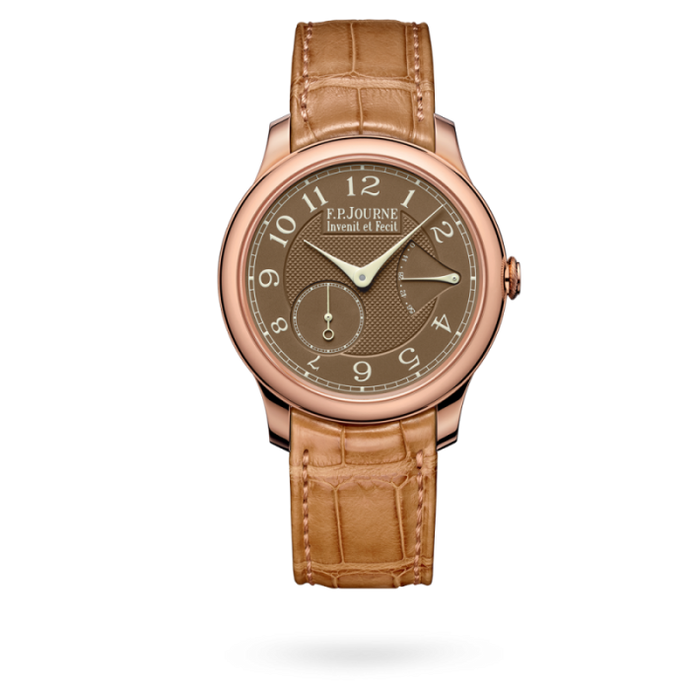 F.p. Journe Chronomètre Souverain Havana 40Mm Rose Gold - Watches Boston