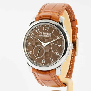 F.P. Journe Chronometre Souverain Havana Dial Platinum 40mm - Boston