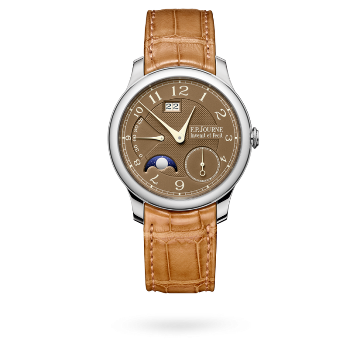 F.p. Journe Octa Automatique Lune Havana 40Mm Platinum - Watches Boston