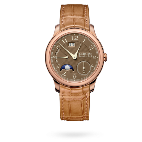 F.p. Journe Octa Automatique Lune Havana 40Mm Rose Gold - Watches Boston