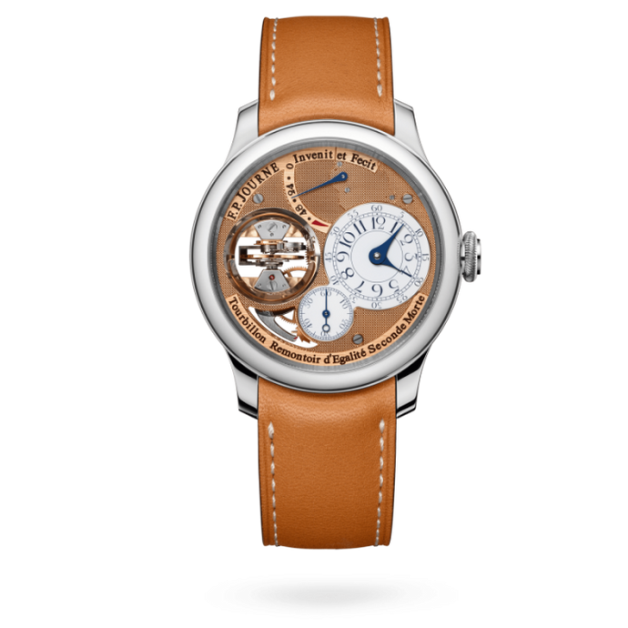 F.P. Journe Vertical Tourbillon Souverain 42mm Platinum - Boston