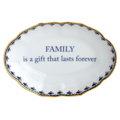 Family Is The Gift Ring Tray - Boston