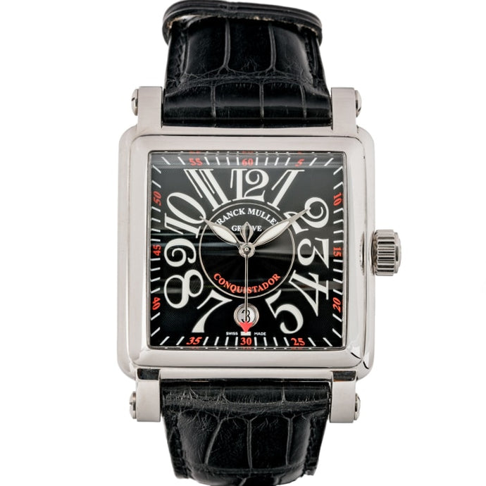 Franck Muller Conquistador Cortez Stainless Steel 41mm (10000HSCACB) - Boston