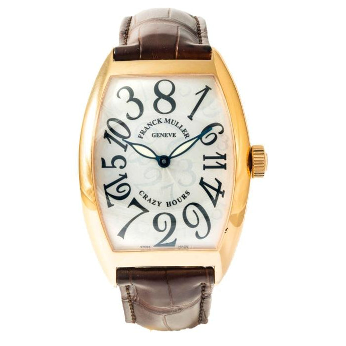 Franck Muller Crazy Hours Rose Gold 40mm x 55mm (8800CH) - Boston