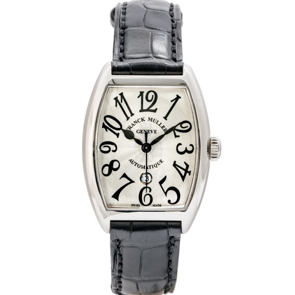 Franck Muller Ladies Cintree Curvex Stainless Steel 28mm (7500 SC AT DT FO) - Boston