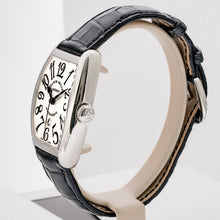 Load image into Gallery viewer, Franck Muller Ladies Cintree Curvex Stainless Steel 28mm (7500 SC AT DT FO) - Boston