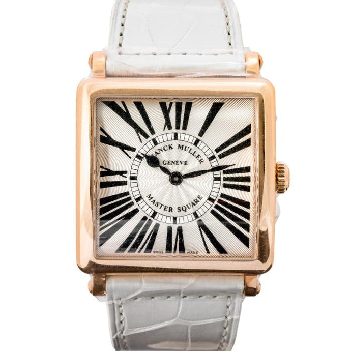 Franck Muller Master Square Rose Gold 34mm (6002 M QZ R) - WATCHES Boston