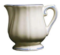 Gien Filet Bleu Creamer (1 Remaining) - Engagement Boston