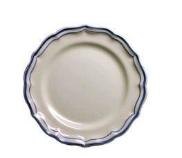 Gien Filet Bleu Dinner Plate - Home & Decor Boston