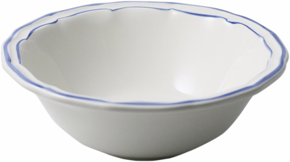 Gien Filet Bleu Xl Cereal Bowl - Home & Decor Boston