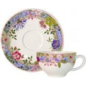 Gien Milliefleur Teacup & Saucer - Home & Decor Boston