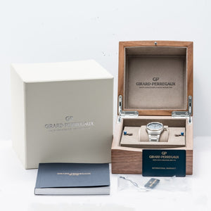 Girard Perregaux Laureato Blue Dial Stainless Steel 38mm (81005-11-431-11A) - Boston