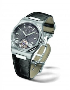 Girard-Perregaux Laureato Tourbillon 45mm Titanium & White Gold/Strap (Ref#99105-41-232-BB6A) - WATCHES Boston