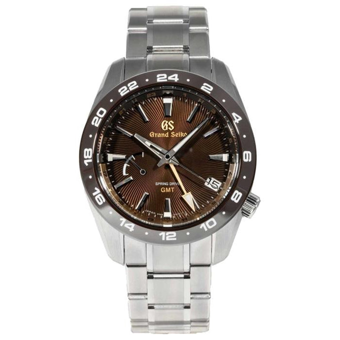 Grand Seiko Nature of Time GMT Brown Dial 40.5mm (SBGE263) - Boston