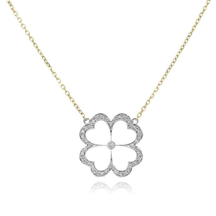 Gumuchian 0.30 Carat GBoutique Kelly Necklace H-I/VS-SI1 (Two-Tone) - Jewelry Designers Boston