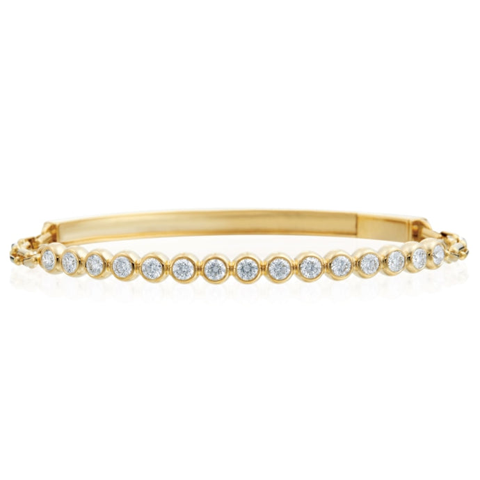 Gumuchian 0.82 Carat Moonlight Bracelet H-I/VS-SI1 (Yellow Gold) - Jewelry Designers Boston