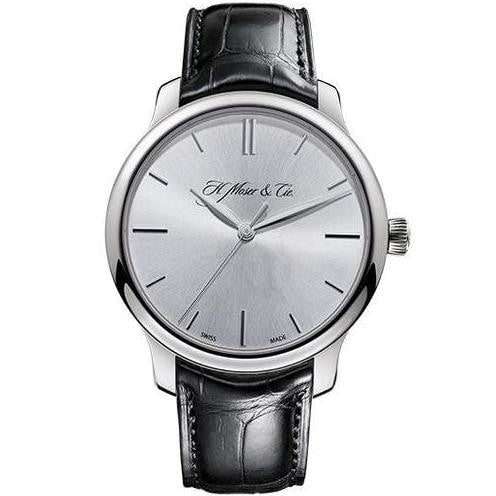 H. Moser & Cie. Endeavor Centre Seconds 40.8Mm White Gold (1343-0204) - Watches Boston
