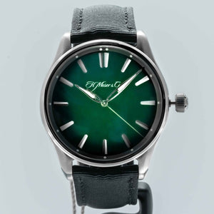 H. Moser & Cie. Pioneer Center Seconds Stainless Steel 42.8mm (3200-1202) - WATCHES Boston