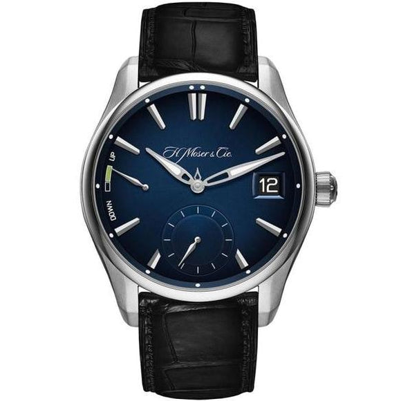 H. Moser & Cie. Pioneer Perpetual Calendar 42.8Mm Stainless Steel (3800-1200) - Watches Boston