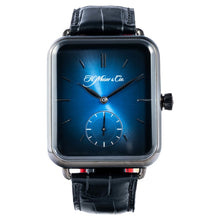 Load image into Gallery viewer, H. Moser & Cie. Swiss Alps Watch Small Seconds Black DLC Stainless Steel 38.2 x 44 mm (5324-1200) - LIMITED Edition - Boston