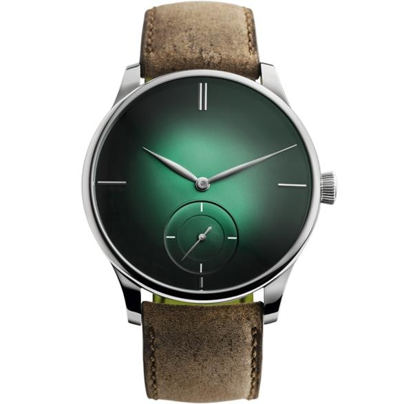 H. Moser & Cie. Venturer Small Seconds Xl Cosmic Green Dial 43Mm White Gold (2327-0209) - Watches Boston