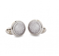 Halcyon Days Golf Ball Cuff Links - Cufflinks Boston