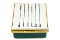 Halcyon Days Golf Clubs Box - Gifts Boston