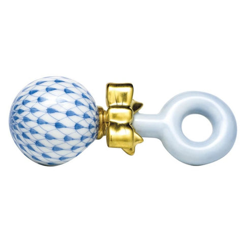 Herend Baby Rattle - Gifts Boston