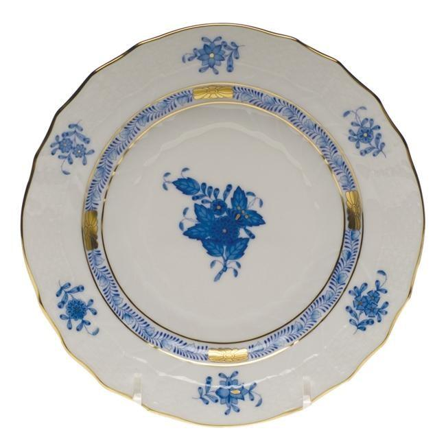 Herend Blue Chinese Bouquet 6 Bread & Butter Plate (9 Remaining) - Engagement Boston