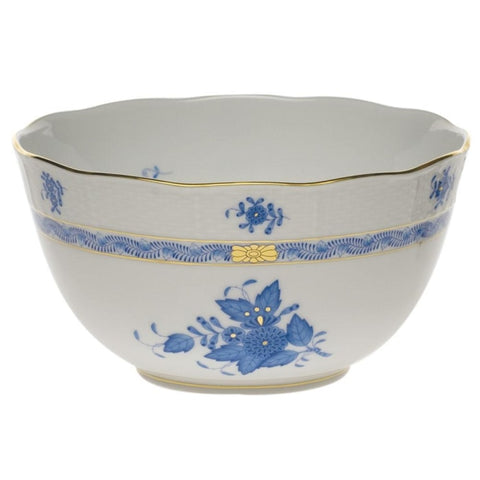 Herend Blue Chinese Bouquet 7.5 Round Bowl (1 Remaining) - Engagement Boston