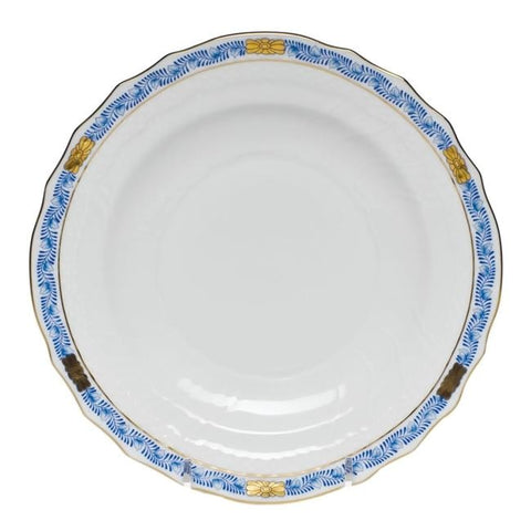 Herend Bouquet Garland Blue 7.5 Salad Plate (7 Remaining) - Engagement Boston