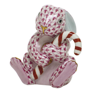 Herend~ Candy Cane Bunny - Home & Decor Boston
